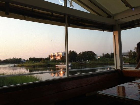 Lobster Grille: View from our table