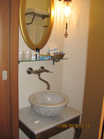 Merial Hotel: раковина