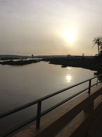 Hotel Mande: sunset