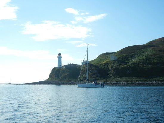The Ugadale Hotel & Cottages: Leuchtturm am Mull of Kintyre