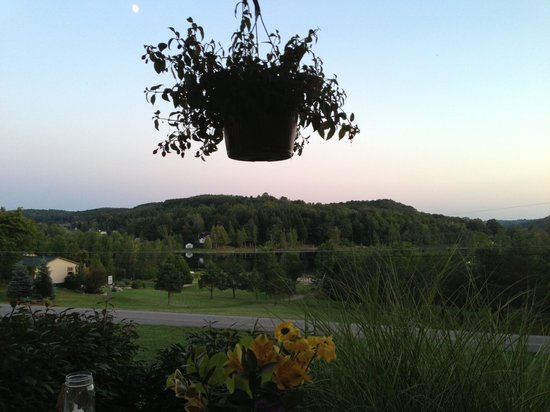 The House on the Hill: View from the porch