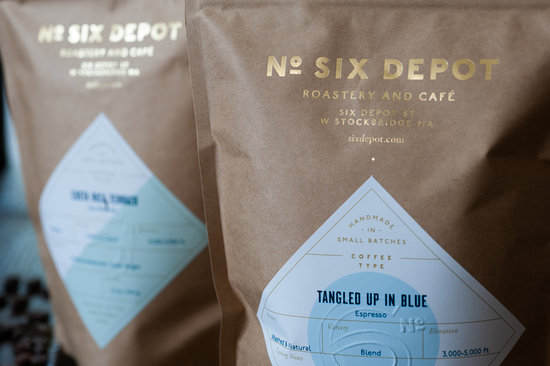 Six Depot Roastery and Cafe: our coffee for sale - roasted on premises