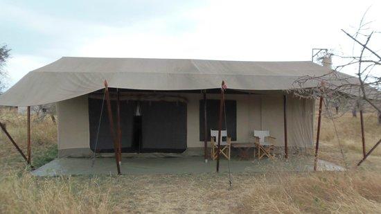 Nieleze Serengeti Camp: la nostra tenda