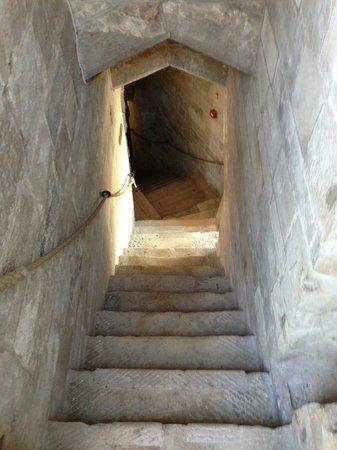 Calshot Castle: Stairwell