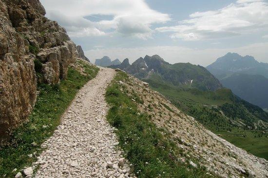 Rifugio Averau: Verso il rifugio 1