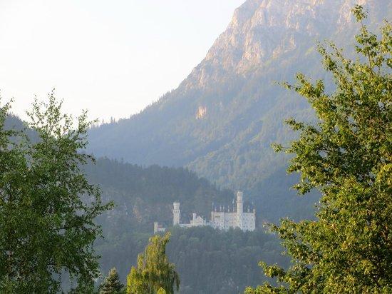 Landgasthof Zur Post: Vista dalla camera