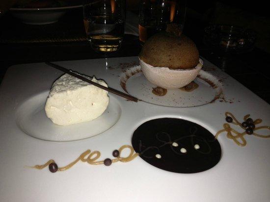 Restaurant Neptune Plage: Le dessert Chataigne...