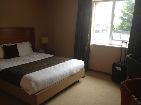 The Millrace Hotel : Dull room