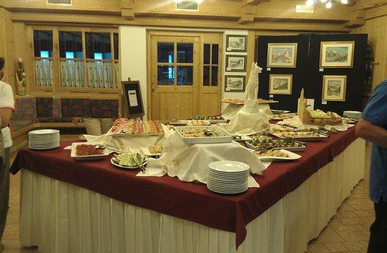 Wellness Hotel Lupo Bianco: buffet