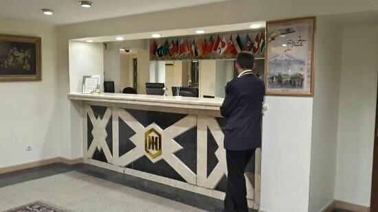 Tabriz Hotel: reception
