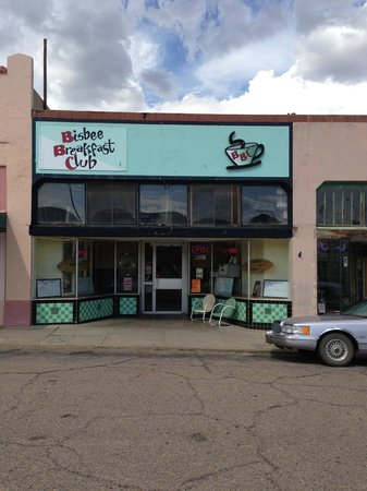 Bisbee Breakfast Club: la façade