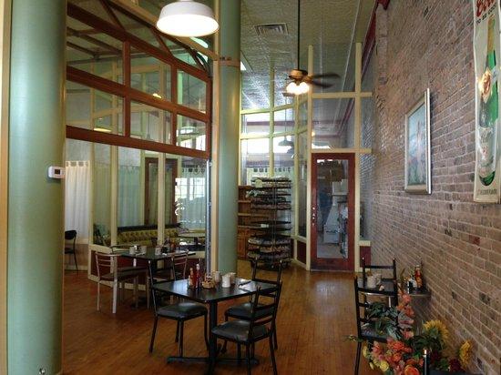 Bisbee Breakfast Club: la salle du petit déjeuner