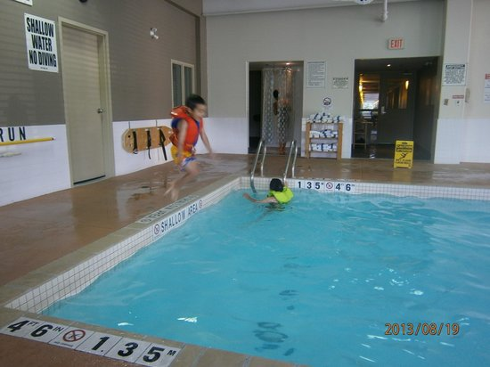 سوبر إيت بيتربورو: Divebombing into the pool