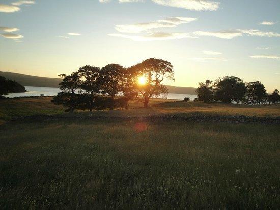 The Bothy: Coucher de soleil sur Tongue