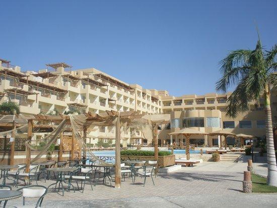 Imperial Shams Abu Soma Resort: Budynki hotelowe