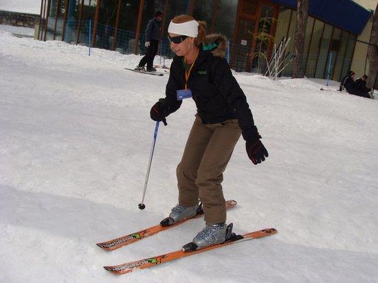 Gran Hotel Termas de Chillán: esquiando