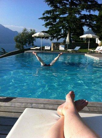 Bellevue San Lorenzo: Pool is great !