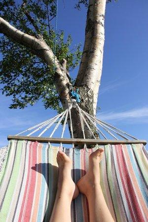 The Bothy: Sous le soleil en été, le pied