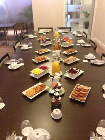 Mercure London Bloomsbury: more breakfast surprise