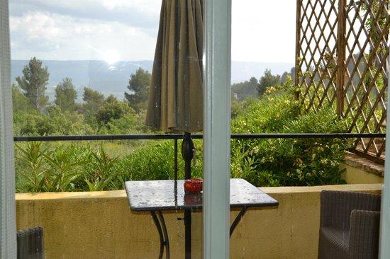 Le Mas du Loriot: The view of our balcony