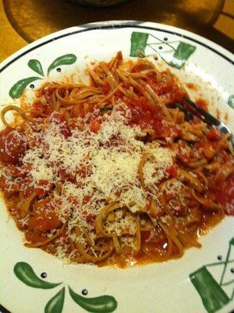 Foto de olive garden warner robins capellini pomodoro with whole wheat pasta tripadvisor for Olive garden capellini pomodoro