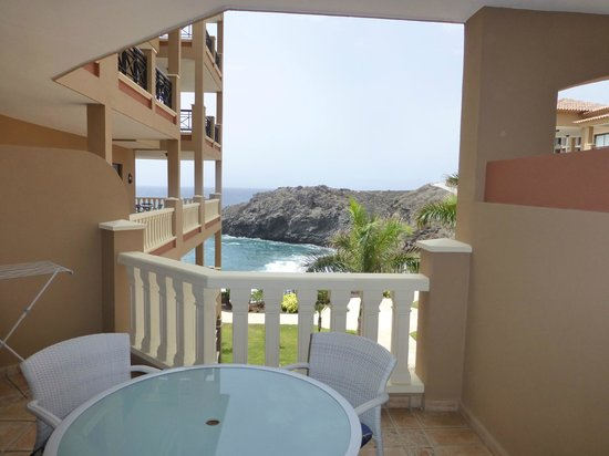 El Nautico Suites: The balcony and view from our room