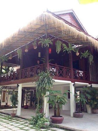 Khmer Charming Restaurant: The Restaurant Building