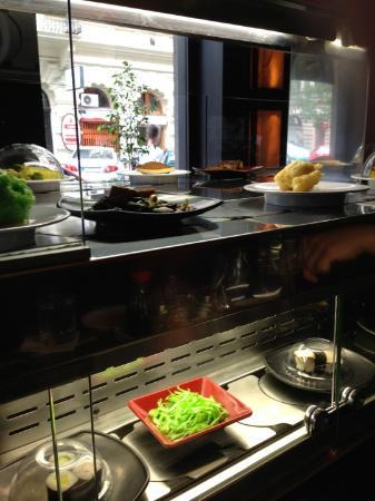 Wasabi Running Sushi & Wok Restaurant : Photo of Wasabi - Running Sushi and Wok Restaurant taken with TripAdvisor City Guides
