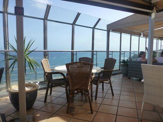 El Nautico Suites: One of the views from the terrace bar