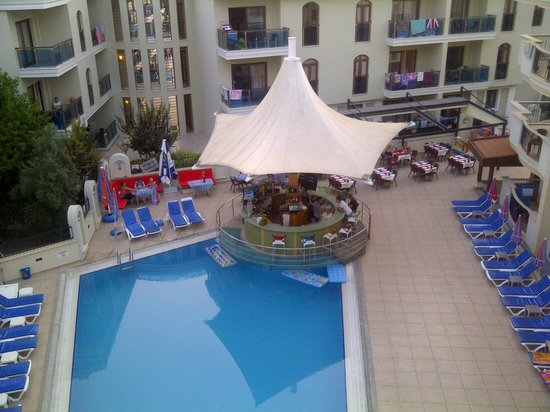 View from 401 picture of club karakas apart hotel for Corse appart hotel
