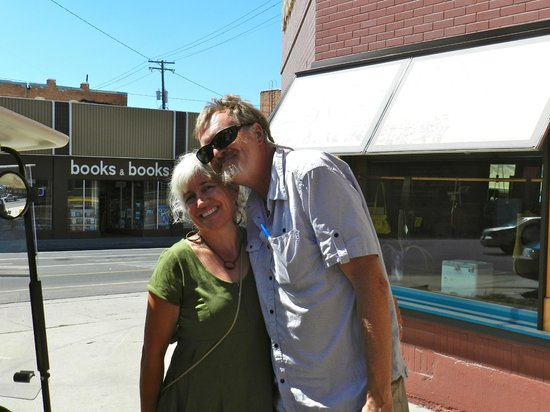 Butte Urban Safari Tours (B.U.S.T.): Mark and his wife at the end of the tour