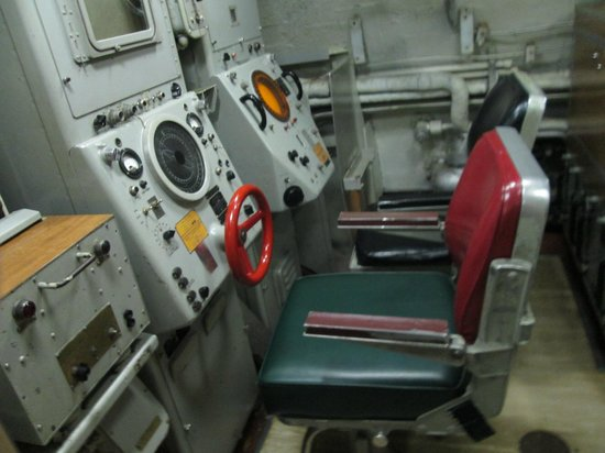 USS Albacore Museum: inside the submarine