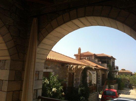 Stephanou Inn: From the balcony
