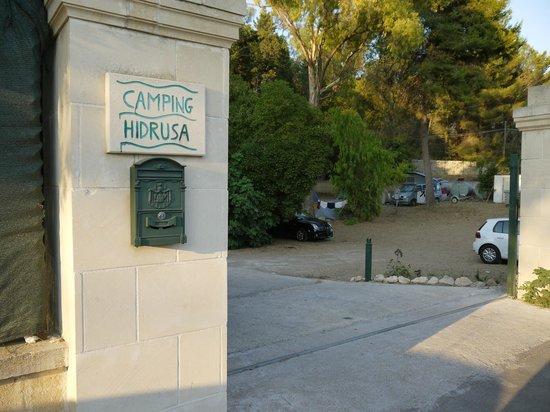 Idrusa Camping : ingresso
