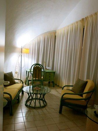 VIK Suite Hotel Risco del Gato : Salottino
