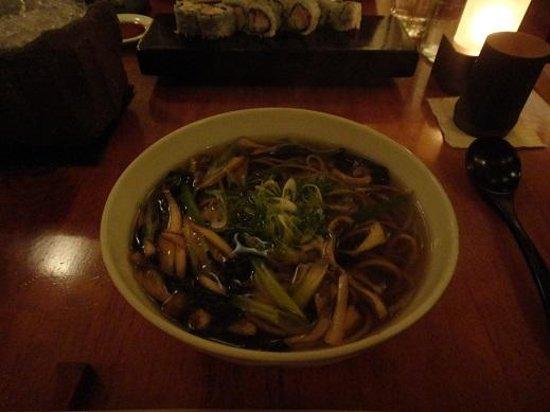 Masa: Grilled mushroom Soba