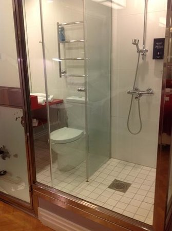 Solo Sokos Hotel Torni: see through toilet walls