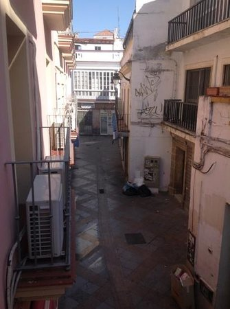 Hotel Dona Blanca: view from our room(111)