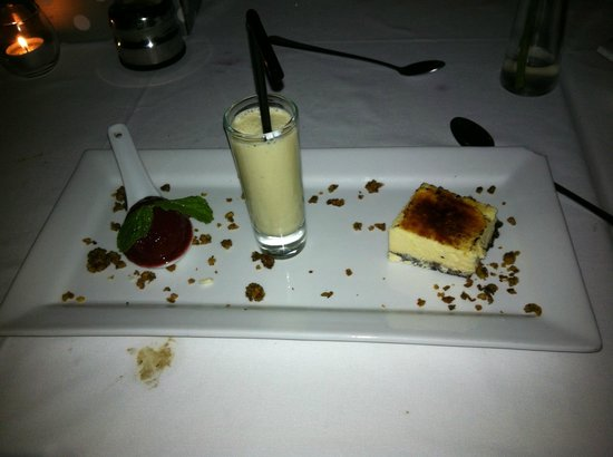 Cafe 1999: Trio of Desserts