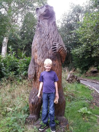Walcot Hall: Beware of the bears in the woods!