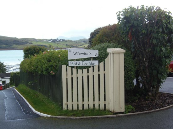 Willowbank Bed and Breakfast : Willowbank B&B entrance