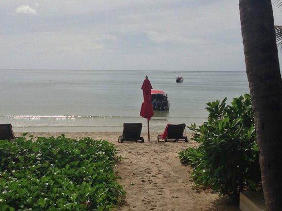 Anantara Rasananda Koh Phangan Villas: View from our room (#1)