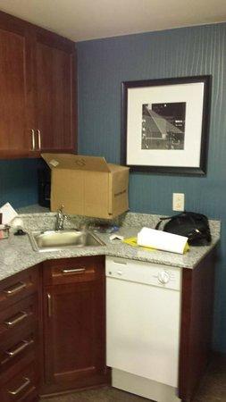 Residence Inn by Marriott Baltimore Downtown/Inner Harbor: kitchen in room