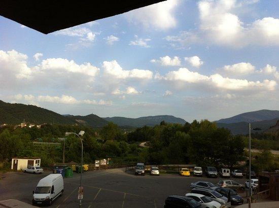 Hotel Meson L'Ainsa: Photo prise du balcon