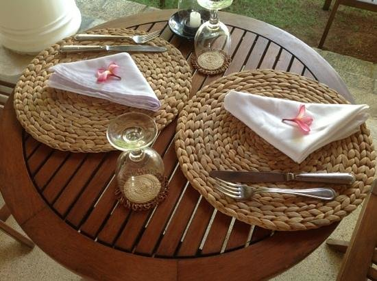 Galle Heritage Villa by Jetwing: Set for breakfast
