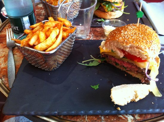 "Au bon burger BB : Chesse ""plus-plus"""