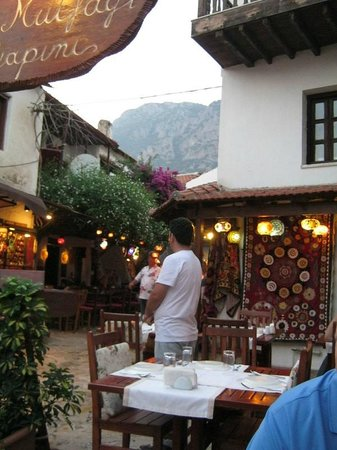 Sempati Turkish Cuisine : View from our table