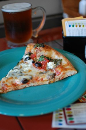 Cappy's Pizzeria: Beer on Tap, Trivial Pursuit Cards while you wait.