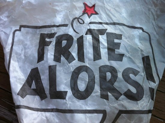 Frite Alors: l'emballage