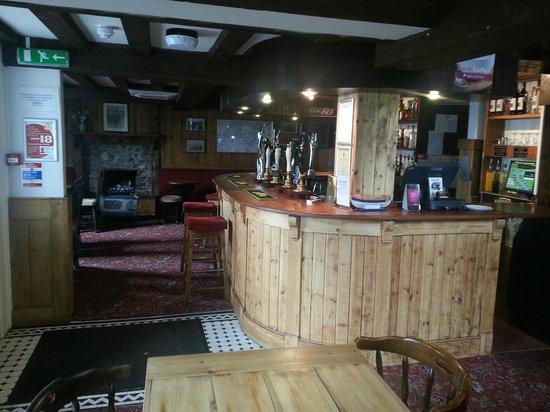 The Three Tuns Hotel: front bar